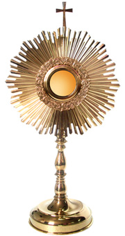 Monstrance: Wonderful Gold Plated Monstrance