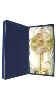 Gold Plated Monstrance + Case