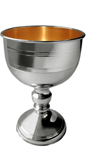 Chalice: Gold Plated Inner Cup Chalice