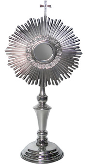 Monstrance: Classic Pewter Monstrance