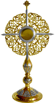 Monstrance: Outstanding Baroque Monstrance